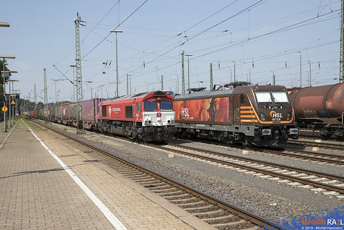 PB 12 . Crossrail + 187 536 . HSL . Aachen West . 25.08.19.
