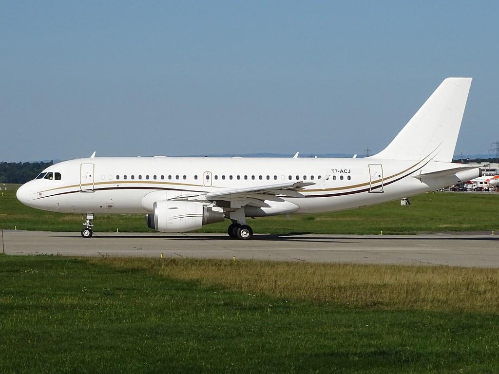 Comlux Malta, Airbus A319-115(CJ), T7-ACJ