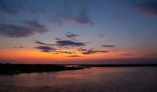 bay dusk jerseyshore longexposure nj ocean stoneharbor sunset vacation newjersey unitedstatesofamerica