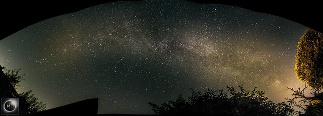 Milky Way Panorama from Oxfordshire 25/08/19