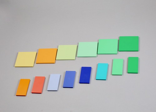 LEGO Non Production Scala Colour test tiles
