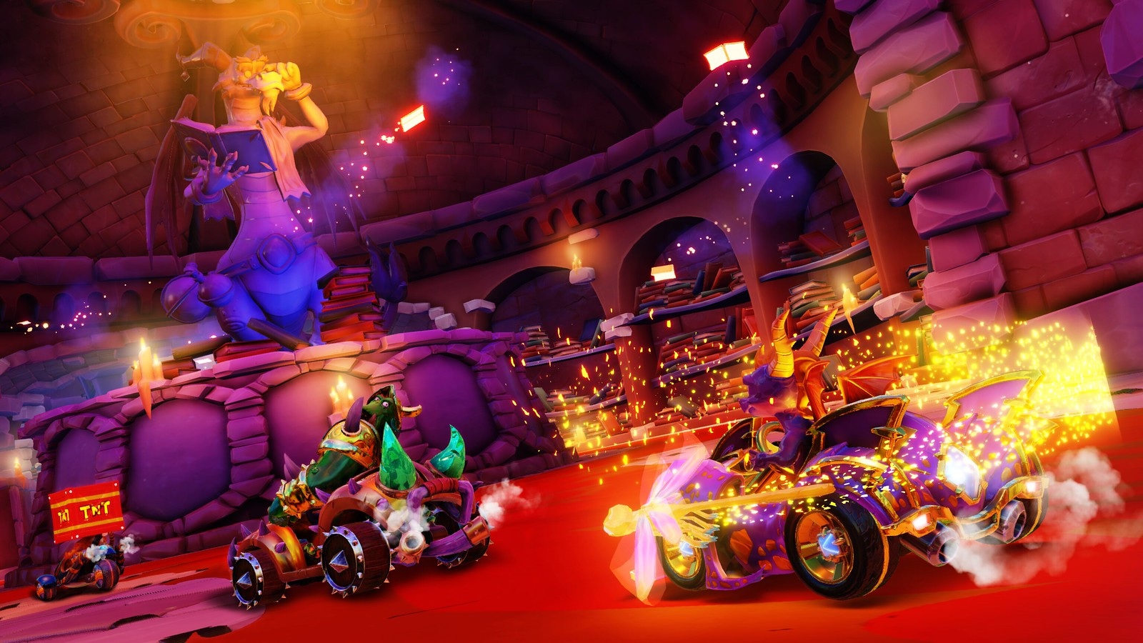 Crash Team Racing Nitro-Fueled on PS4