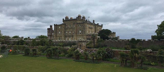The Culzean Castle near Maybole, Scotland.