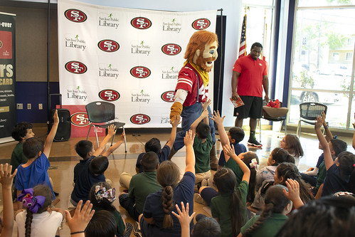 SF 49ers Library Card Launch & Storytime