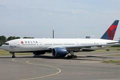 Delta Airlines B777-200ER N701DN departing AMS/EHAM