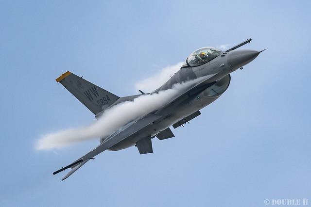 PACAF F-16 Demo at MatsushimaAB Airshow 2019 Rehearsal (33)
