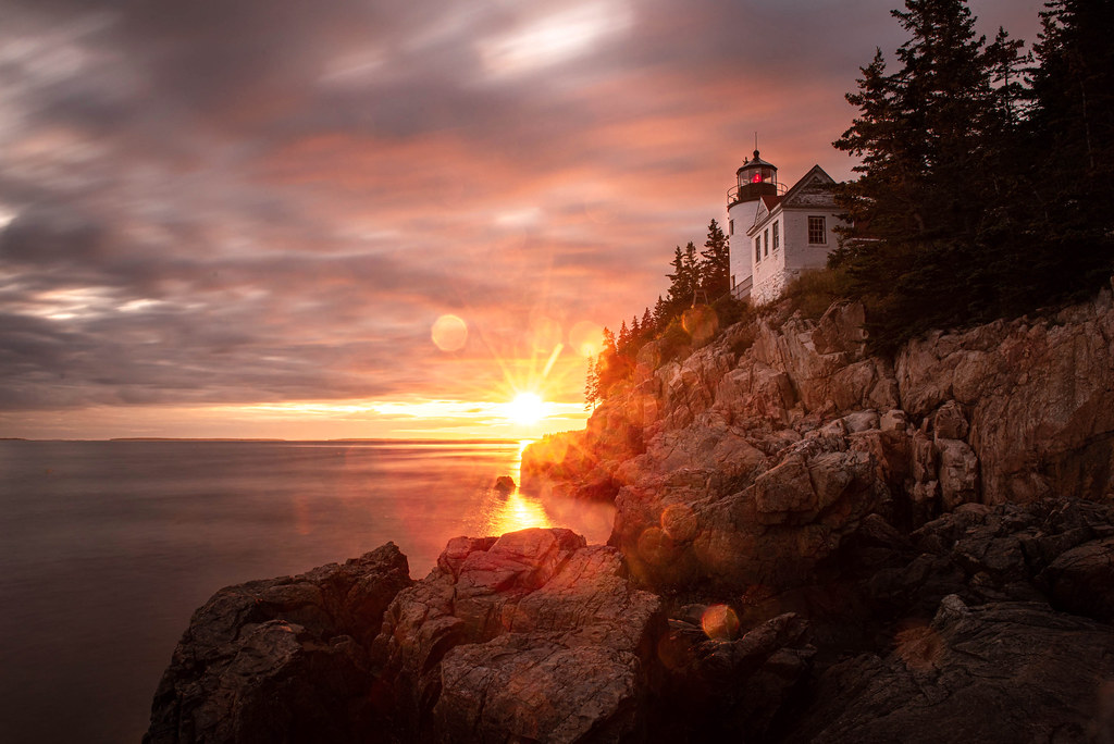 Bass Harbor Lighthouse, Mount Desert Island ME