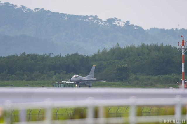 PACAF F-16 Demo at MatsushimaAB Airshow 2019 Rehearsal (4)