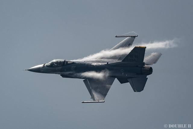 PACAF F-16 Demo at MatsushimaAB Airshow 2019 Rehearsal (44)