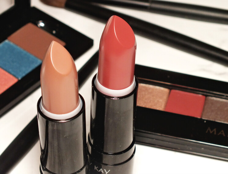mary kay tenacious taupe & spice of life matte lipstick (3)