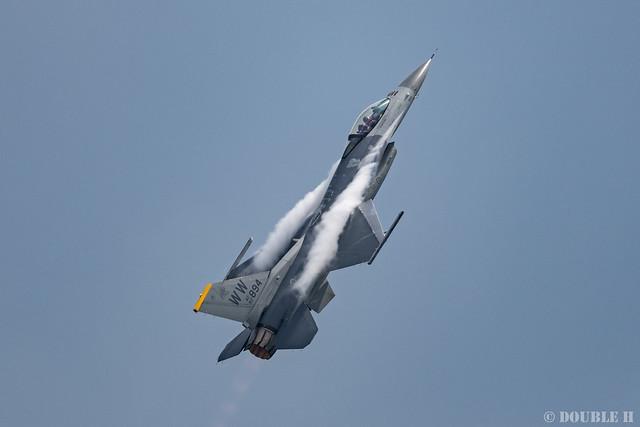 PACAF F-16 Demo at MatsushimaAB Airshow 2019 Rehearsal (11)
