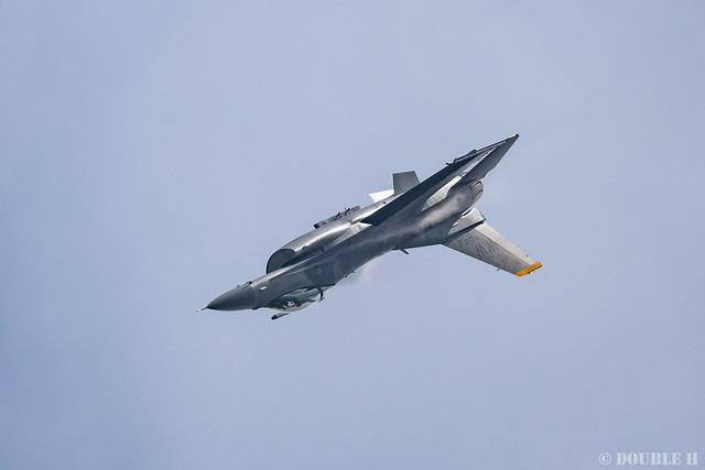 PACAF F-16 Demo at MatsushimaAB Airshow 2019 Rehearsal (12)
