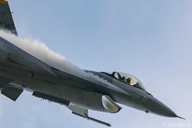 PACAF F-16 Demo at MatsushimaAB Airshow 2019 Rehearsal (34)