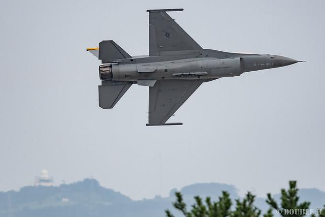 PACAF F-16 Demo at MatsushimaAB Airshow 2019 Rehearsal (40)