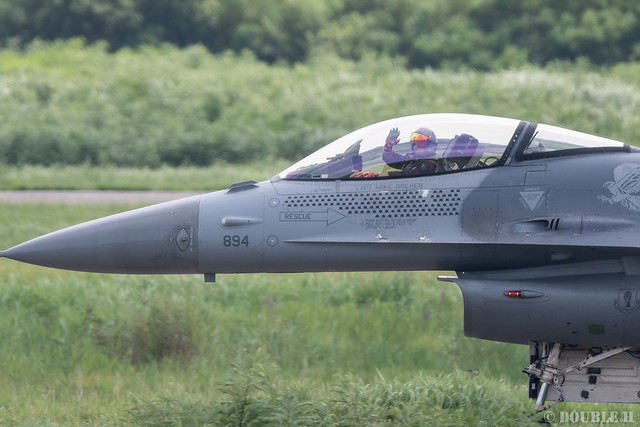 PACAF F-16 Demo at MatsushimaAB Airshow 2019 Rehearsal (47)