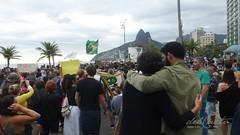 AM Ipanema190825 058  Marcha pela Amazônia Geral bandeira  do brasil Dois Irmãos Deputado Davi Miranda abraço boa