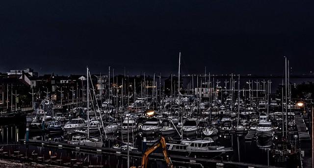 Night on the Marina