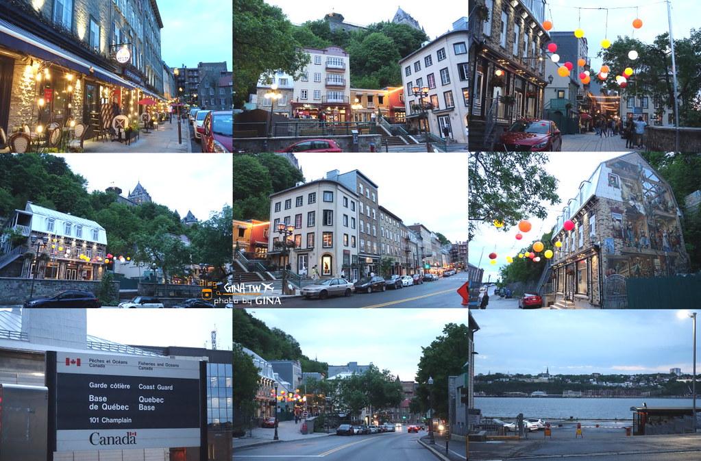 2020加拿大法式風情 魁北克市(Quebec City)韓劇鬼怪景點 歷史城區GINA2天2夜行程建議 聯合國教科文組織世界文化遺產 @Gina Lin