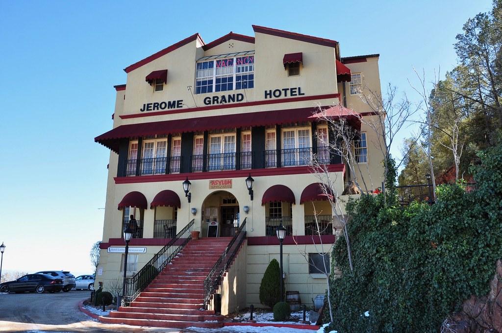 Haunted Hamburger & The Asylum ~ Jerome Ghost Town