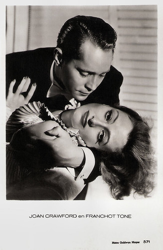 Joan Crawford and Franchot Tone in Dancing Lady (1933)