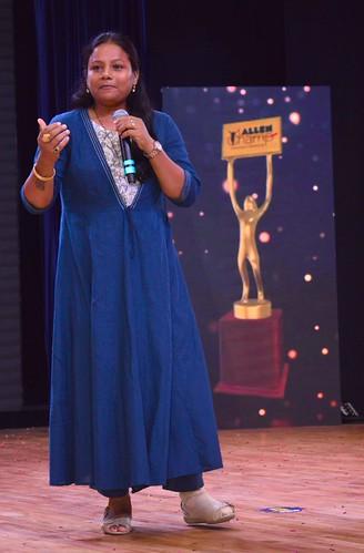 Arunima Sinha Padma Shri Awardee on Allen Champ Day