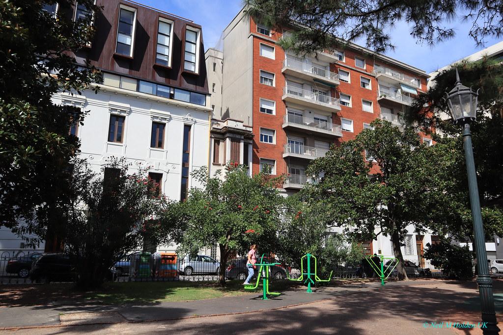 Zabala Plaza, Montevideo, Uruguay
