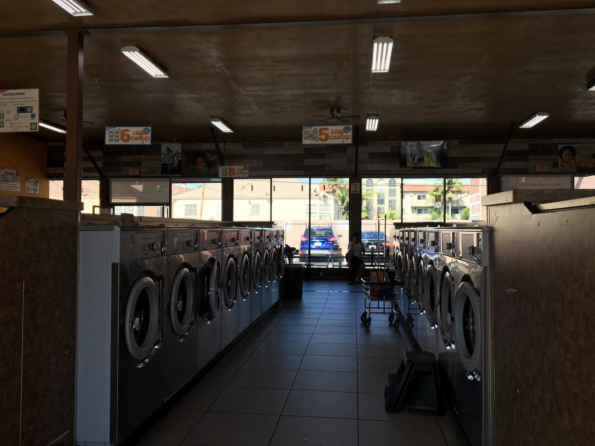giặt ủi ở los angeles