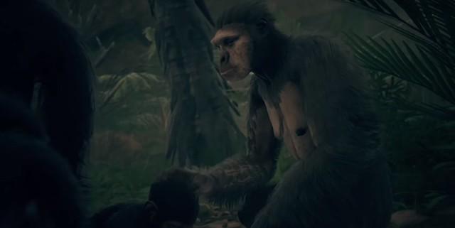 Предки Одіссея людства - мама-мавпа