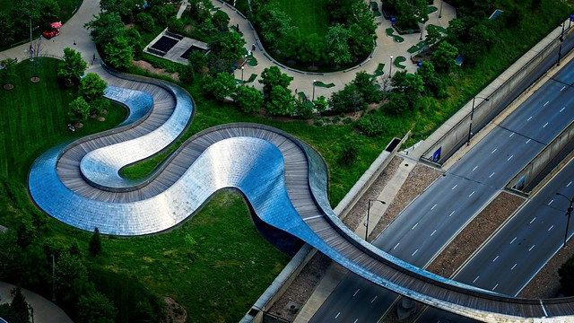 Ribbon of Steel, Millennium Bridge
