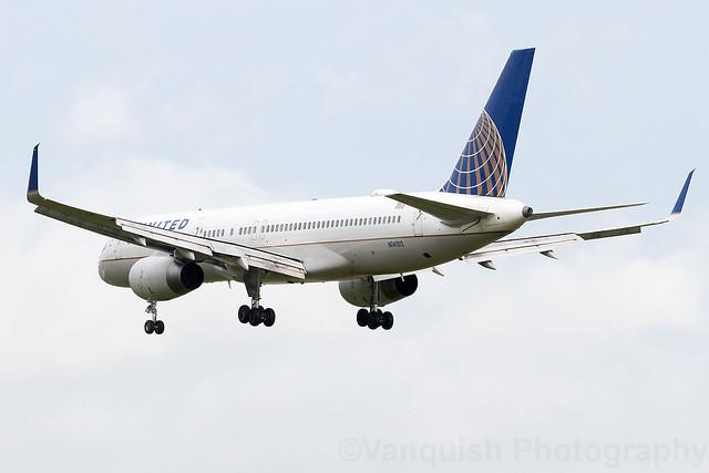 N14102 United Airlines B757-200 Dublin Airport