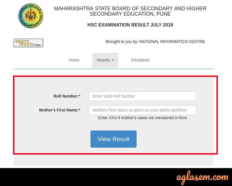 Maharashtra HSC Supplementary Result 2019