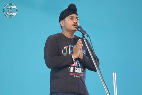 Devotional song by Harmeet, Janakpuri, Delhi