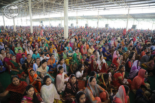 A view of congregation in Pandal