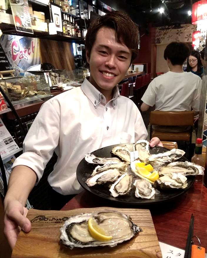 Shuck more oysters