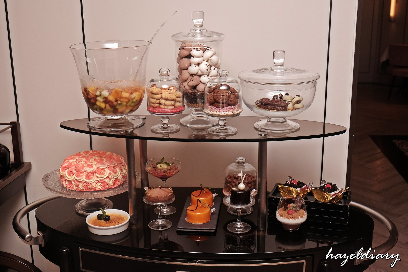 Tablescape Restaurant and Bar Grand Park City Hall-Desserts Trolly