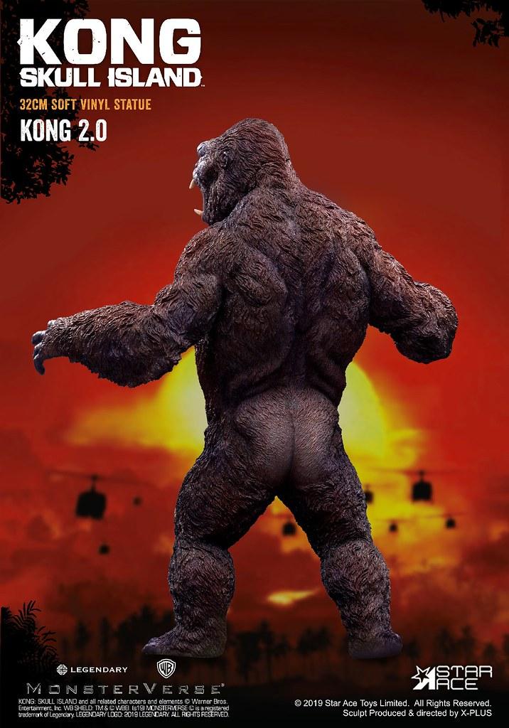 霸氣十足的骷髏島守護巨神! Star Ace Toys《金剛:骷髏島》金剛 2.0 Kong 2.0 全身雕像作品 普通版/豪華版