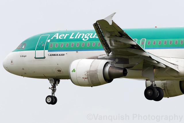 EI-DVK Aer Lingus A320 Dublin Airport