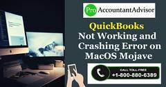 QuickBooks Not Working and Crashing Error on MacOS Mojave