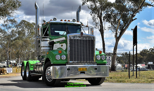 Kenworth 900 Legend Chief Little Bighorn at Castlemaine