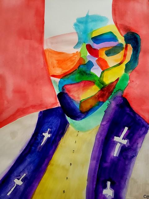 Priestly Figure