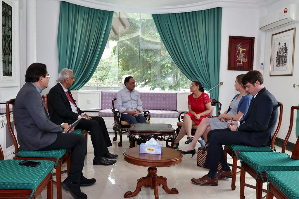 Ambassador Kamala meeting with Dato' Seri Anwar Ibrahim