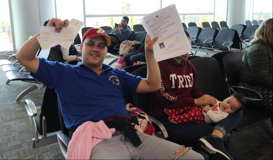 Vuelo 36 retorna a 85 venezolanos y venezolanas provenientes de Ecuador