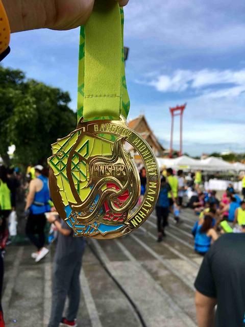 Bangkok Midnight Marathon 2019 medal