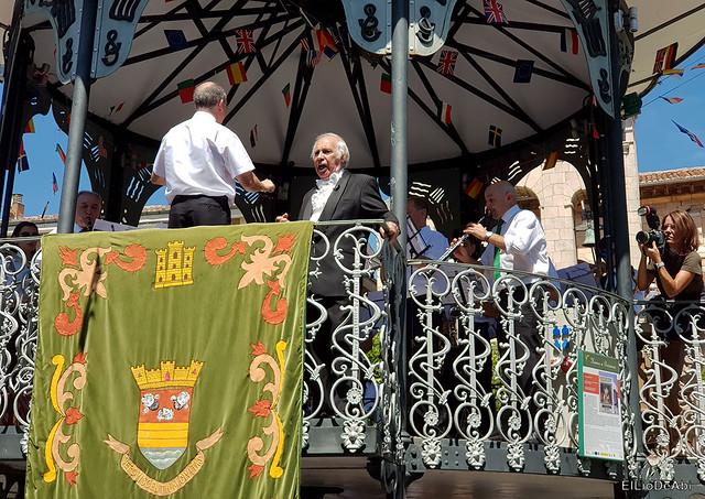 Día de San Roque Recepción e Himno a Briviesca