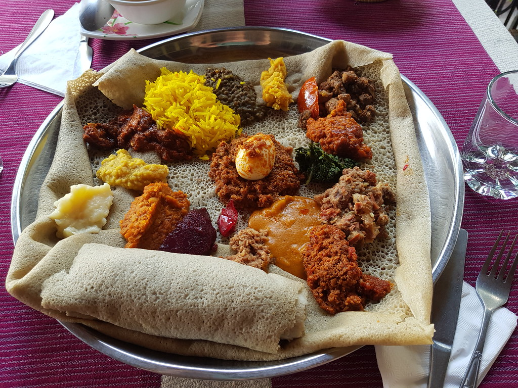 National Food in Fours Sisters, Gondar