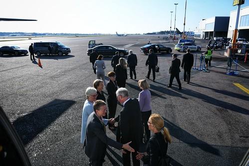 Valsts prezidenta Egila Levita Somijas apmeklējums