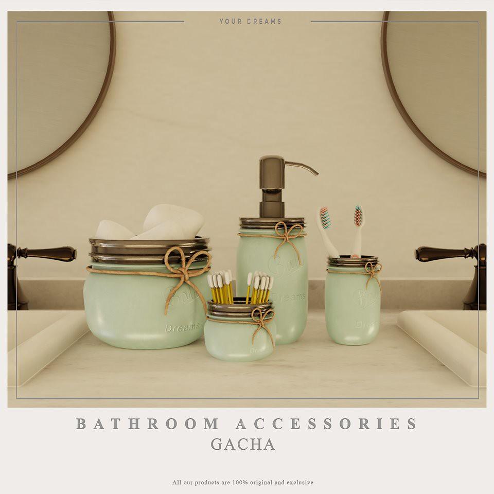 {YD} Bathroom Accesories - TeleportHub.com Live!