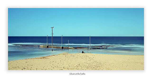 Mona Vale beach baths.