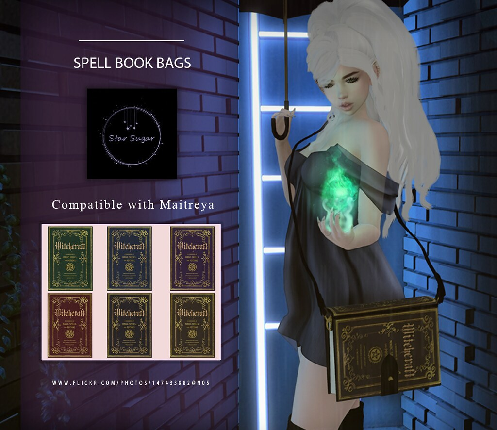 Spell book bag
