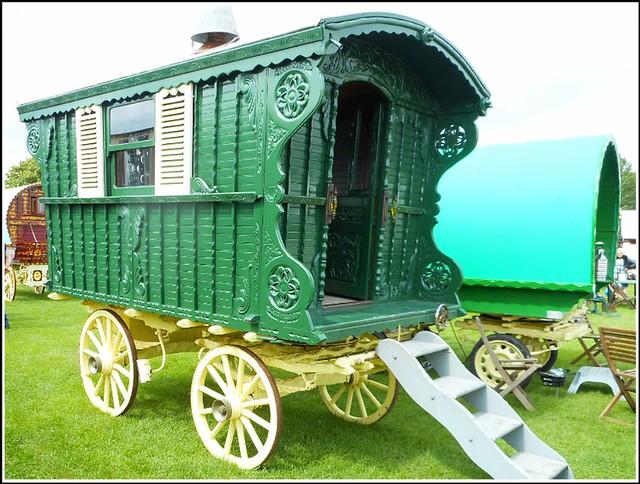Horse Drawn Caravan ...
